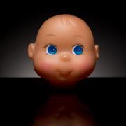 potisk panenky tamponovým tiskem